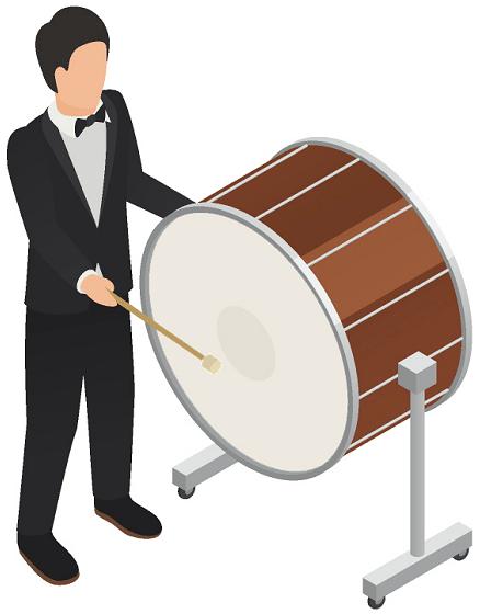 bass-drummer