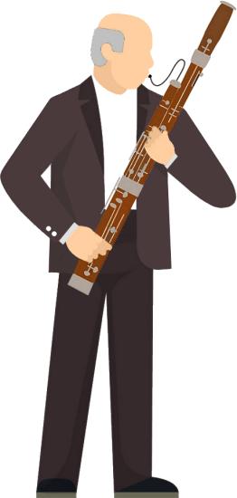 bassoon-player