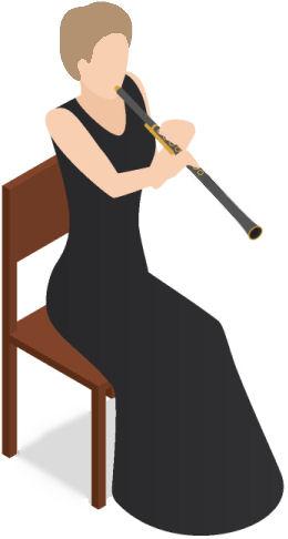 oboe-player