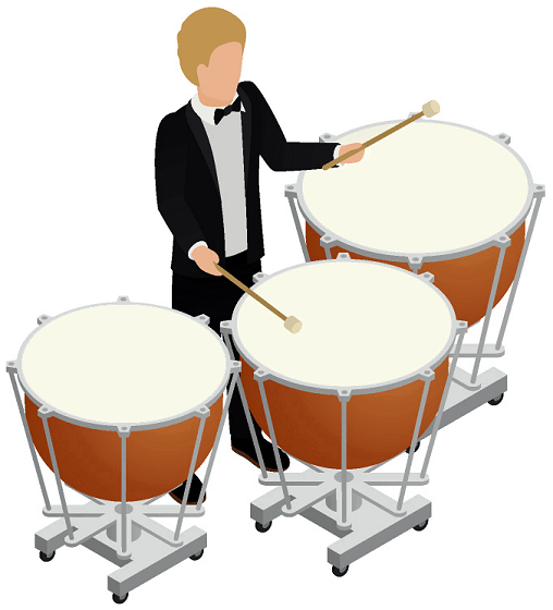 timpani-player